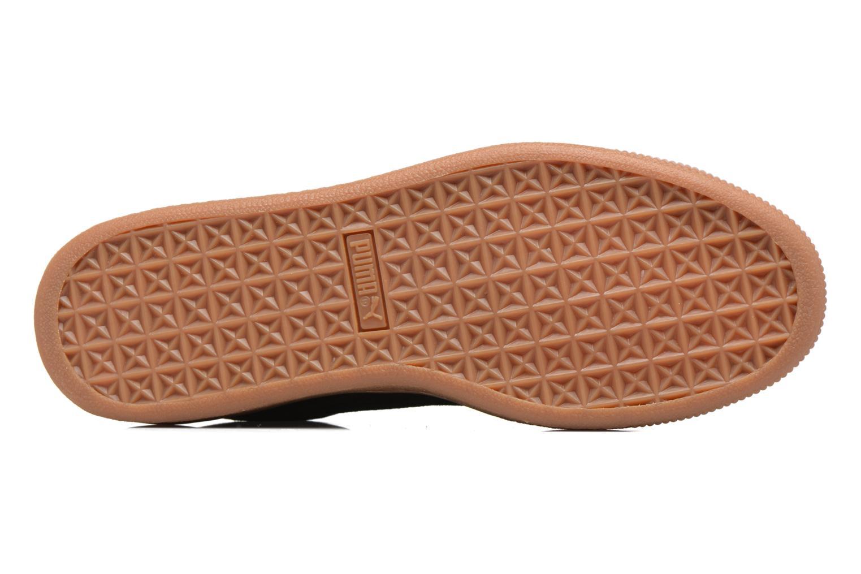 Sneakers Puma Basket Weatherproof Nero immagine dall'alto