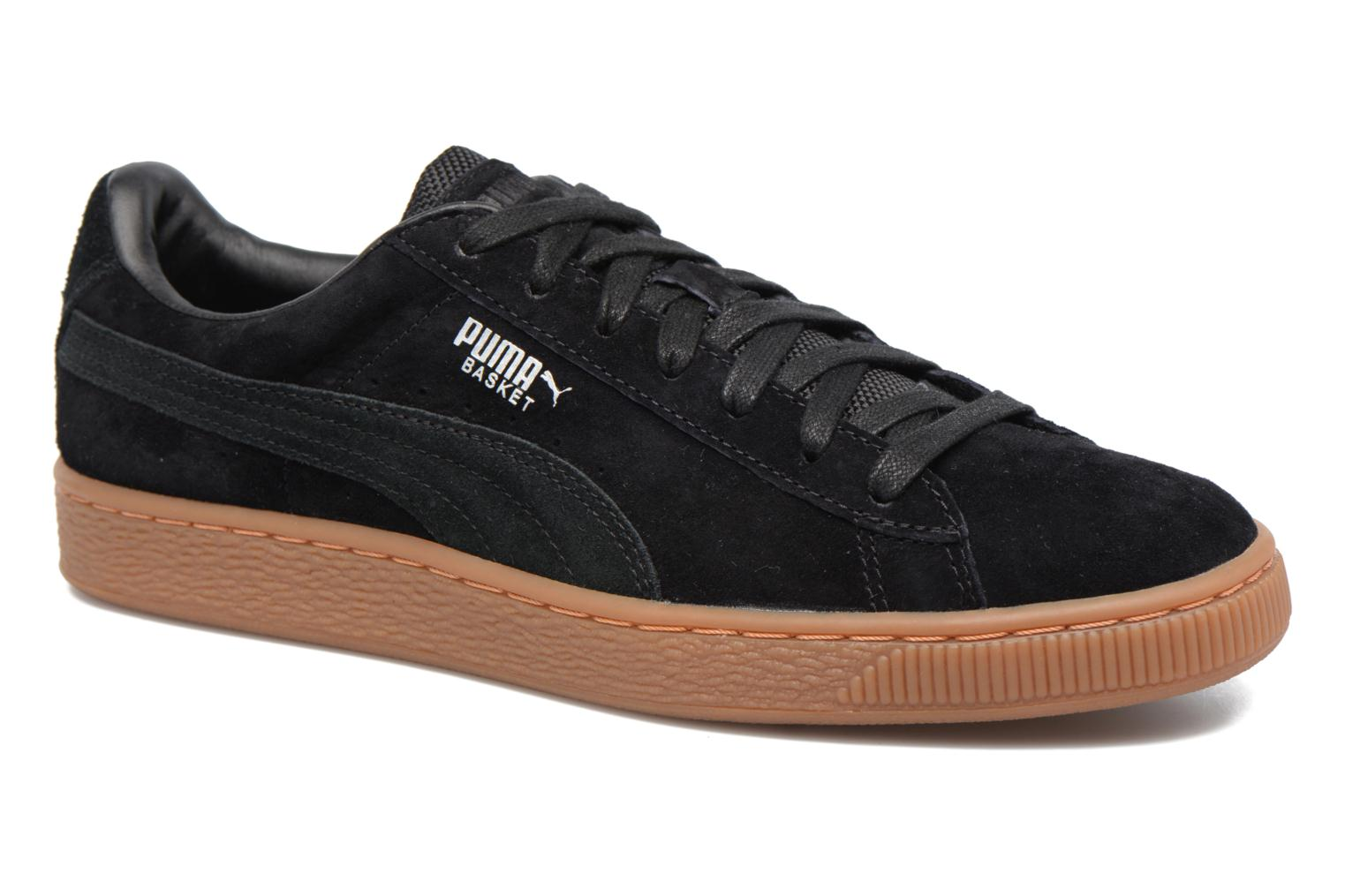 Sneakers Puma Basket Weatherproof Zwart detail