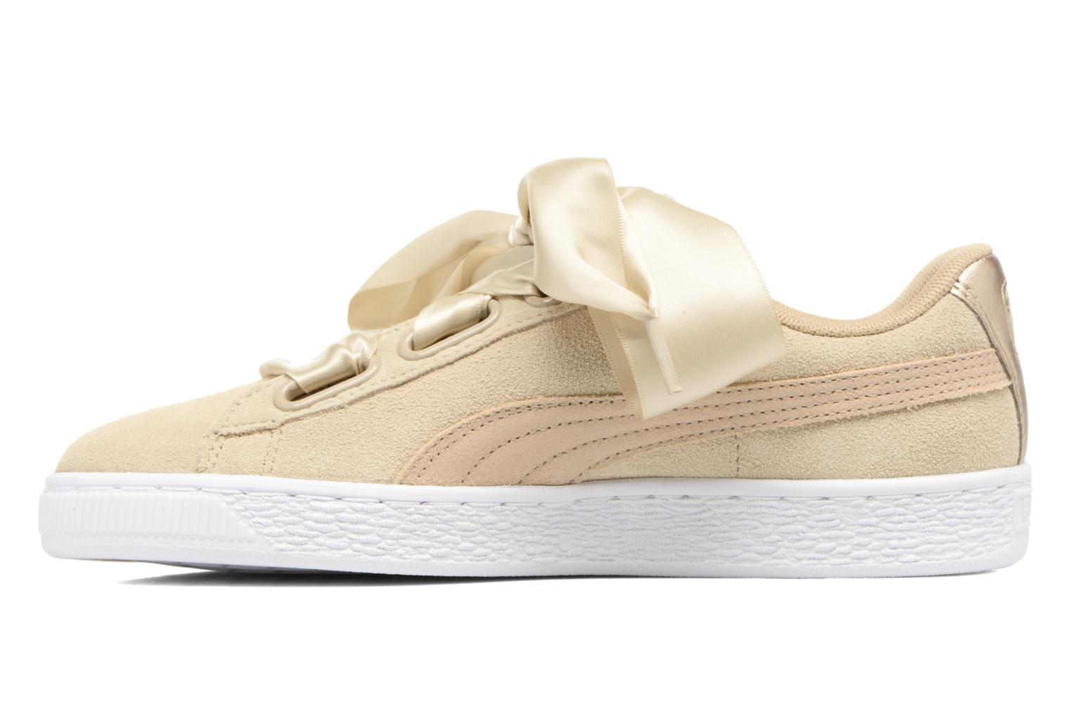 Sneakers Puma Basket heart Msafari Wn's Marrone immagine frontale