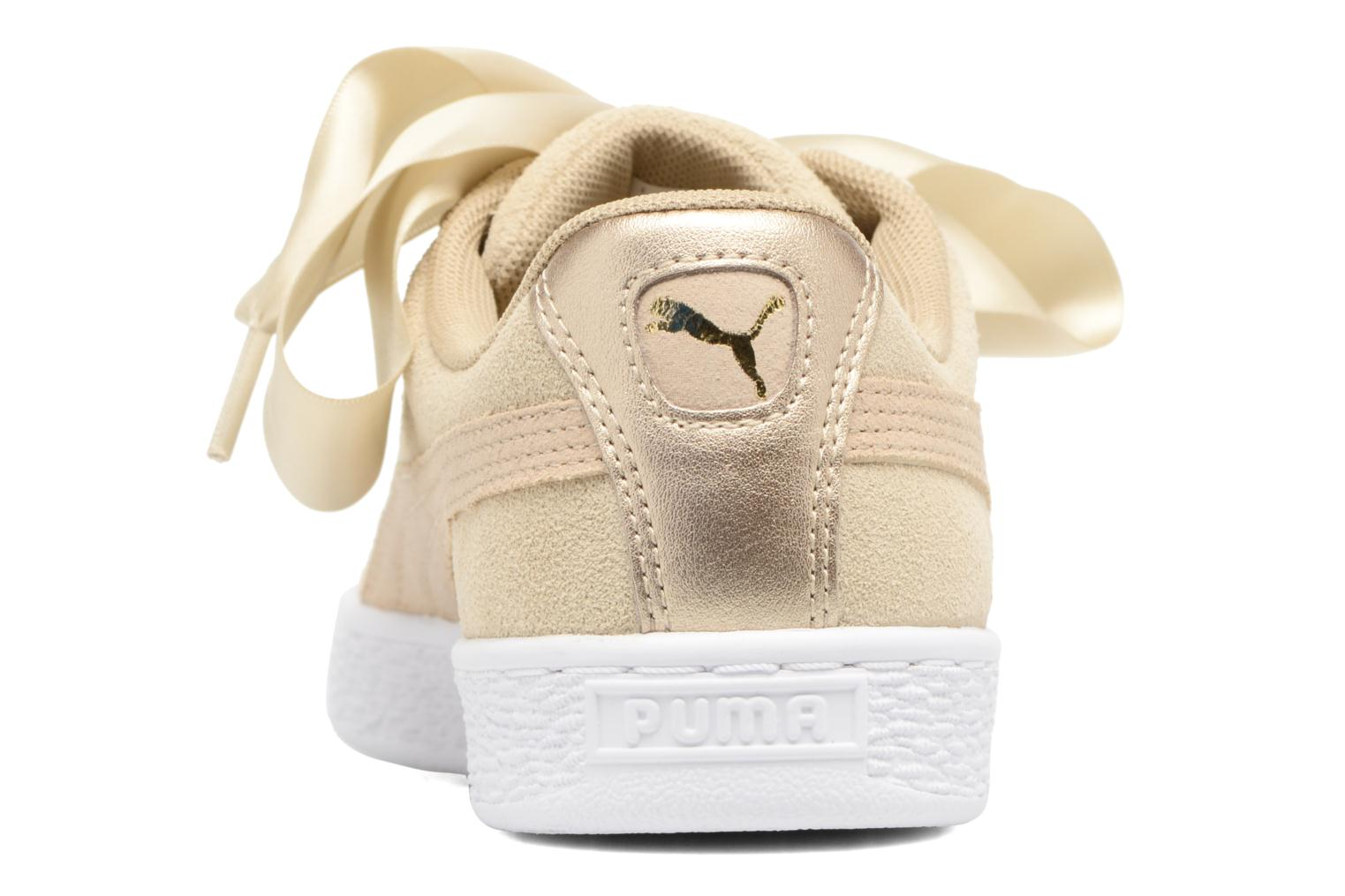 Sneakers Puma Basket heart Msafari Wn's Marrone immagine destra
