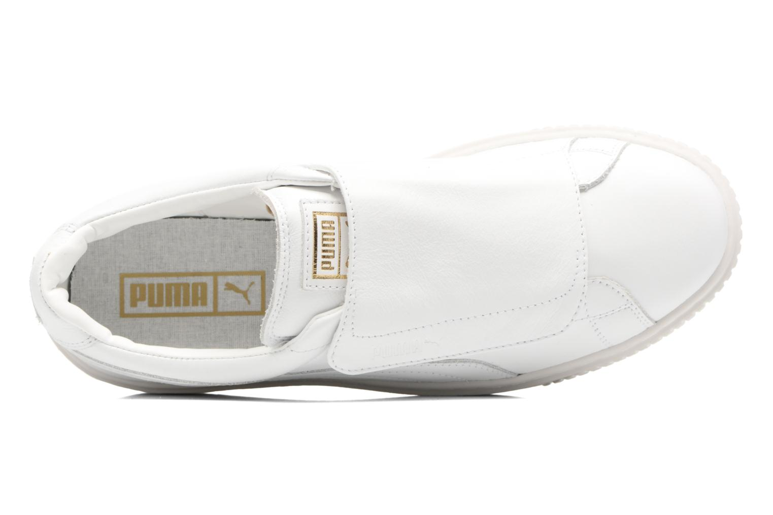 Sneakers Puma Wns Basket Platf Bigv Wit links