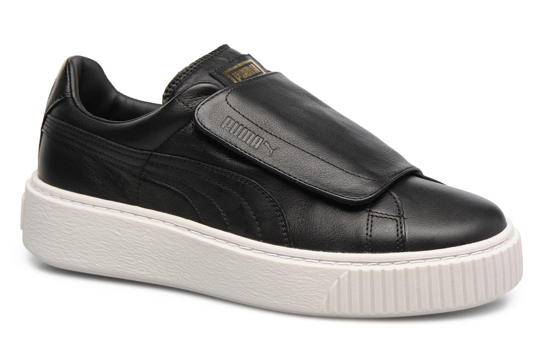 Sneakers Puma Wns Basket Platf Bigv Zwart detail