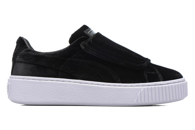 Sneakers Puma Wns Basket Platform S Vr.O Zwart achterkant