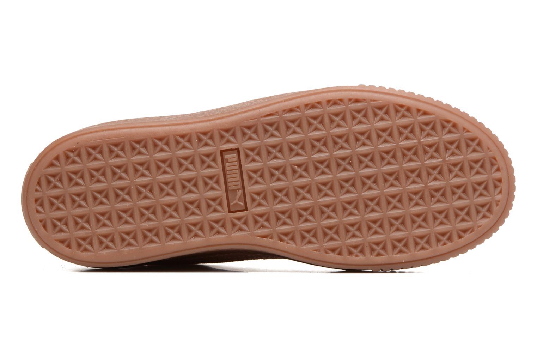 Sneakers Puma Wns Suede Platform Gum.Cam Rosa immagine dall'alto