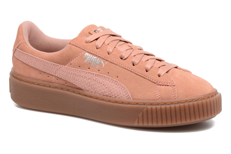 Sneakers Puma Wns Suede Platform Gum.Cam Rosa vedi dettaglio/paio