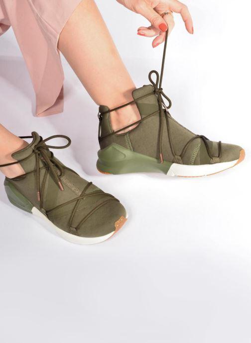 Chaussures de sport Puma Wns Fierce Rope Vert vue bas / vue portée sac