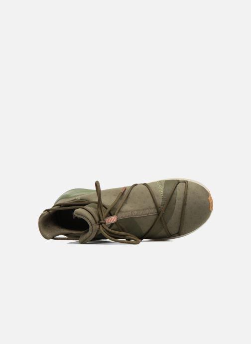 Zapatillas de deporte Puma Wns Fierce Rope Verde vista lateral izquierda