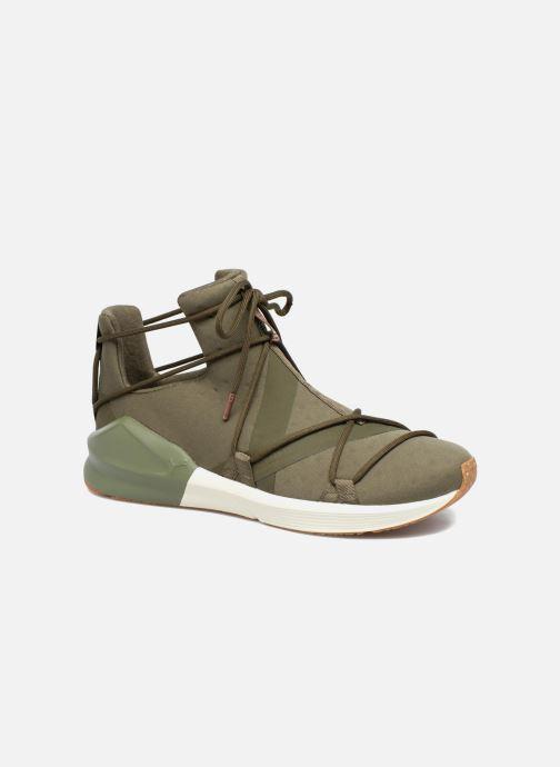 Chaussures de sport Puma Wns Fierce Rope Vert vue détail/paire