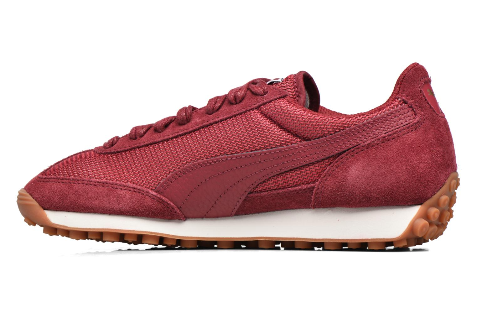 Baskets Puma Wns Easy Rider Bordeaux vue face