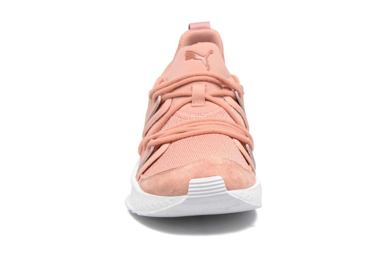 Baskets Puma Wns Tsugi Blaze Rose vue portées chaussures