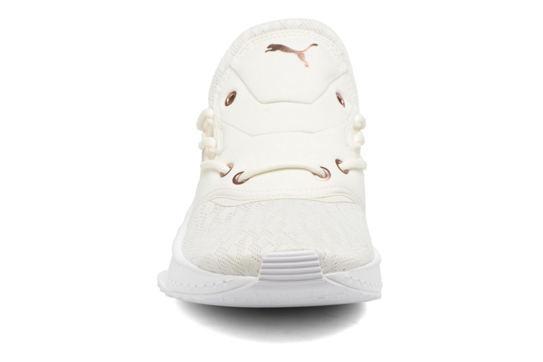 Baskets Puma Wns Tsugi Shinsei Blanc vue portées chaussures
