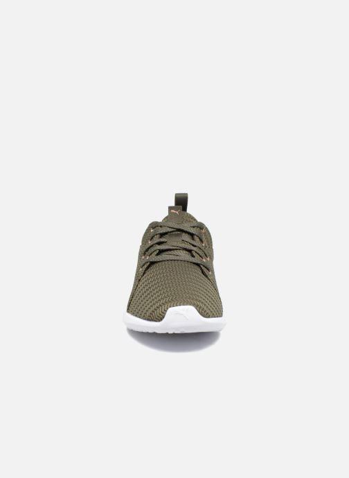 Chaussures de sport Puma Wns Carson 2 Metallic Vert vue portées chaussures