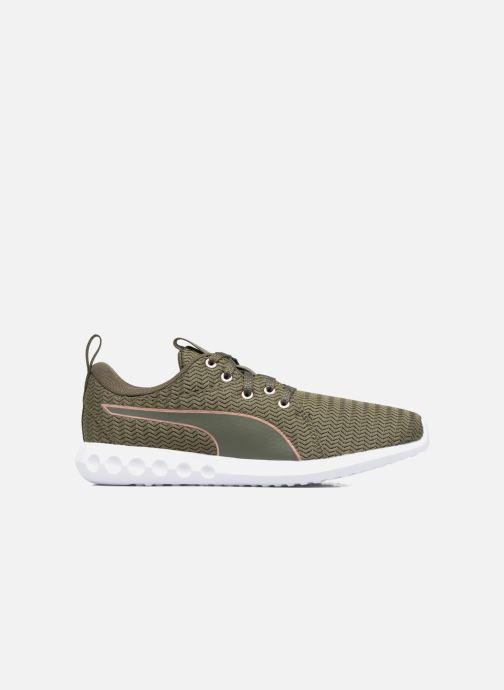 Chaussures de sport Puma Wns Carson 2 Metallic Vert vue derrière