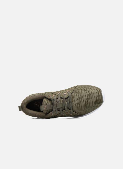 Chaussures de sport Puma Wns Carson 2 Metallic Vert vue gauche