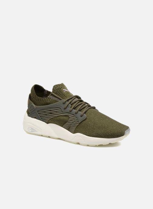 Sneakers Puma Blaze Cage Evoknit Grøn detaljeret billede af skoene