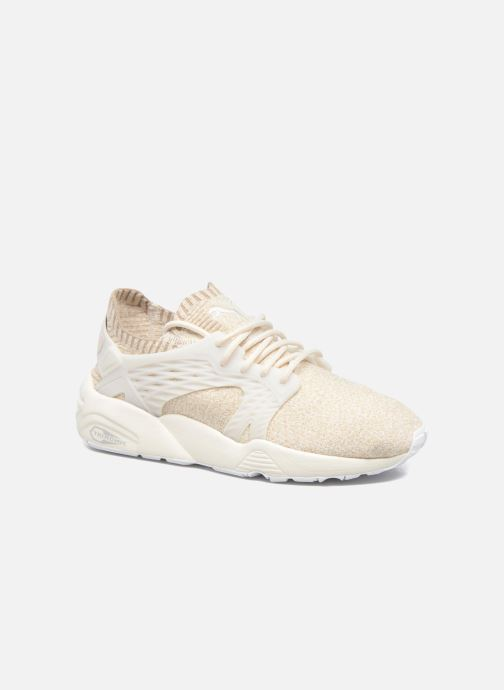 Trainers Puma Wns Blaze Cage Knit White detailed view/ Pair view