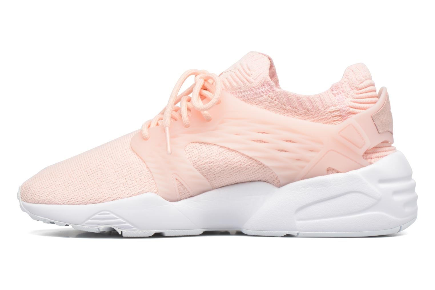 Baskets Puma Wns Blaze Cage Knit Rose vue face