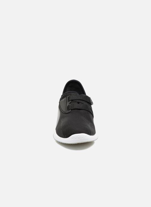 Sneaker Puma Mostro Mesh W schwarz schuhe getragen