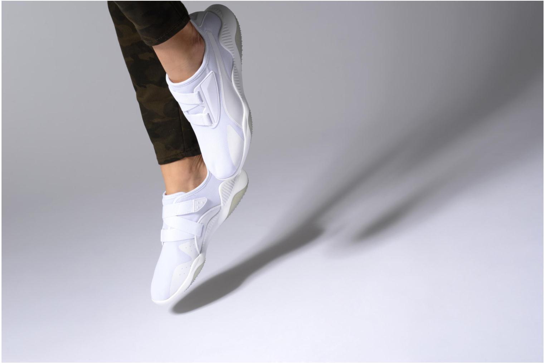Sneakers Puma Mostro Mesh W Bianco immagine dal basso