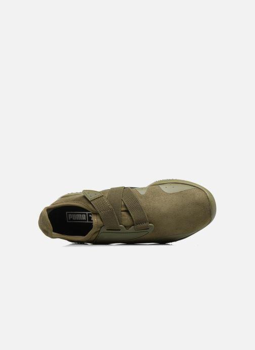 Sneakers Puma Mostro Hypernature Verde immagine sinistra