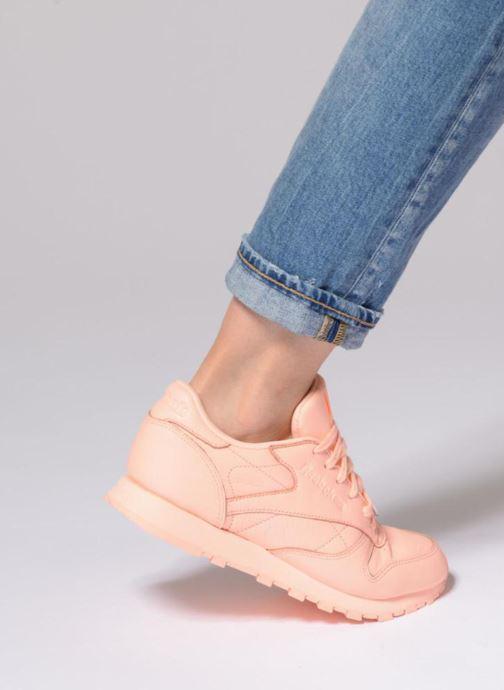 Sneakers Reebok Cl Lthr L Oranje onder