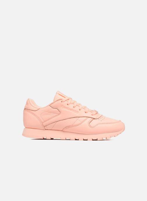 Sneakers Reebok Cl Lthr L Oranje achterkant