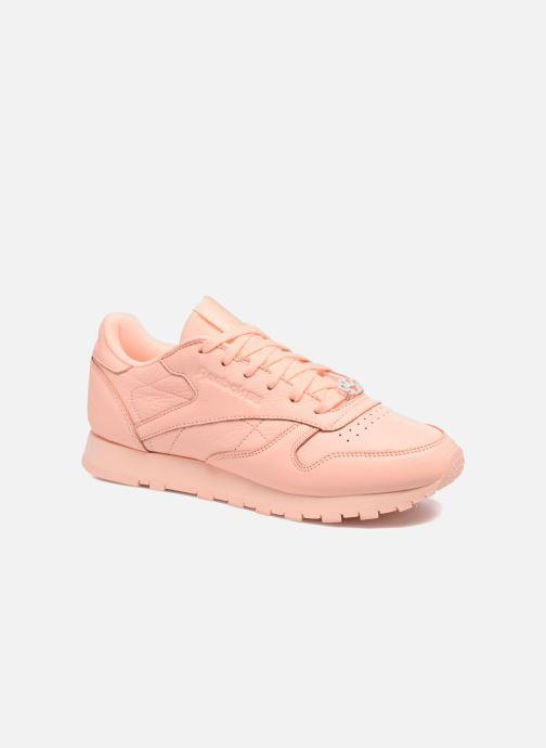Sneakers Reebok Cl Lthr L Oranje detail