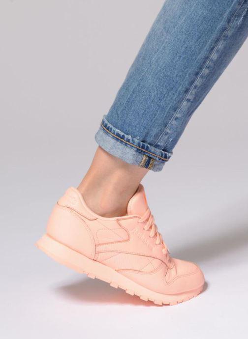 Sneakers Reebok Cl Lthr L Paars onder