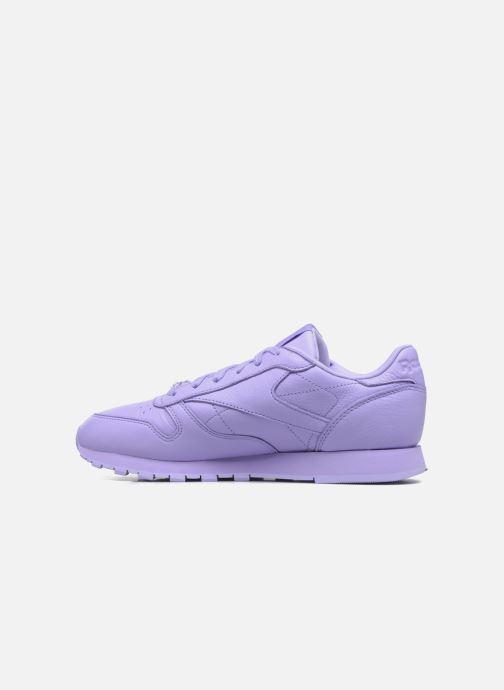Sneakers Reebok Cl Lthr L Paars voorkant