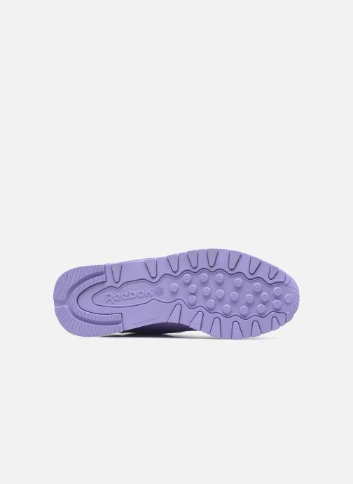 Sneakers Reebok Cl Lthr L Paars links