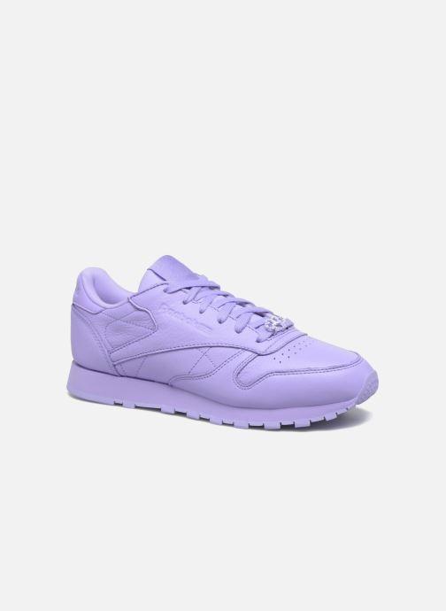 Sneakers Reebok Cl Lthr L Paars detail