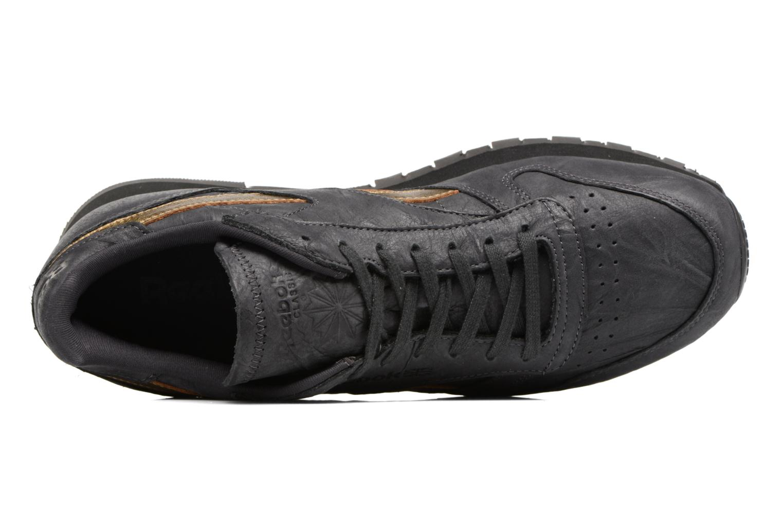 Sneakers Reebok Cl Leather Tu Grijs links