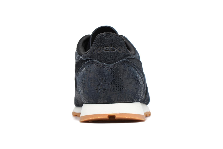 Sneakers Reebok Cl Lthr Clean Exoti Zwart rechts