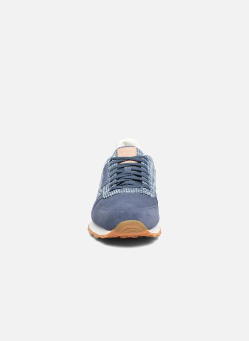 Trainers Reebok Cl Leather Ebk Blue model view