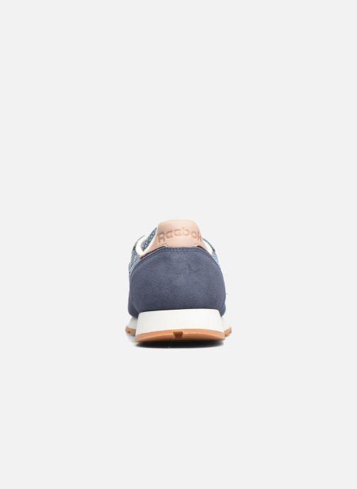 Sneakers Reebok Cl Leather Ebk Azzurro immagine destra