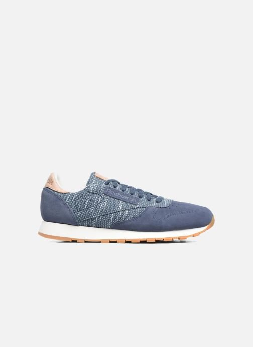 Trainers Reebok Cl Leather Ebk Blue back view