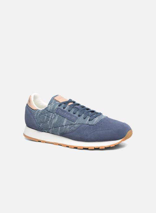 Sneakers Reebok Cl Leather Ebk Azzurro vedi dettaglio/paio