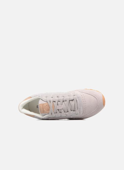Sneakers Reebok Cl Leather Ebk Grijs links