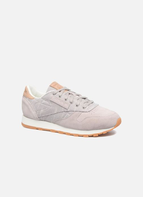 Sneakers Reebok Cl Leather Ebk Grijs detail