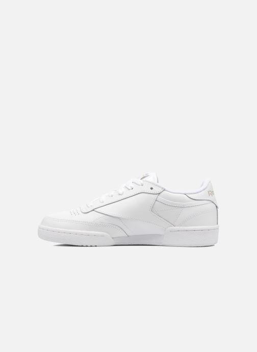 Sneaker Reebok Club C 85 W weiß ansicht von vorne