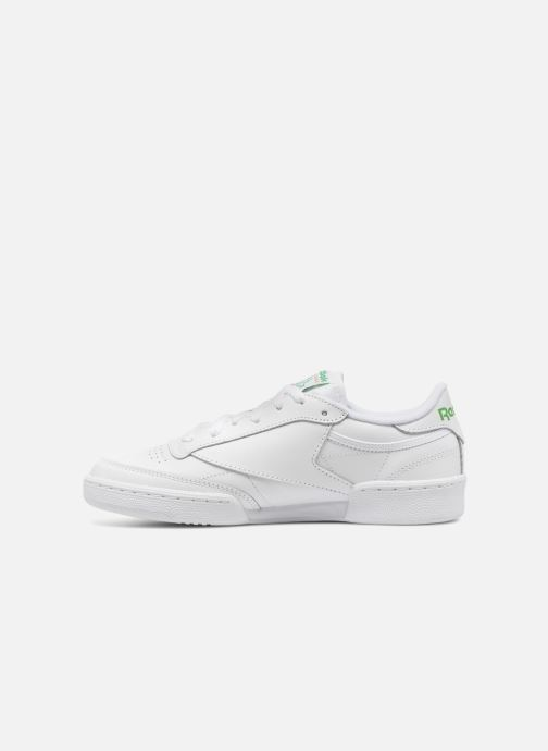 Sneakers Reebok Club C 85 W Wit voorkant