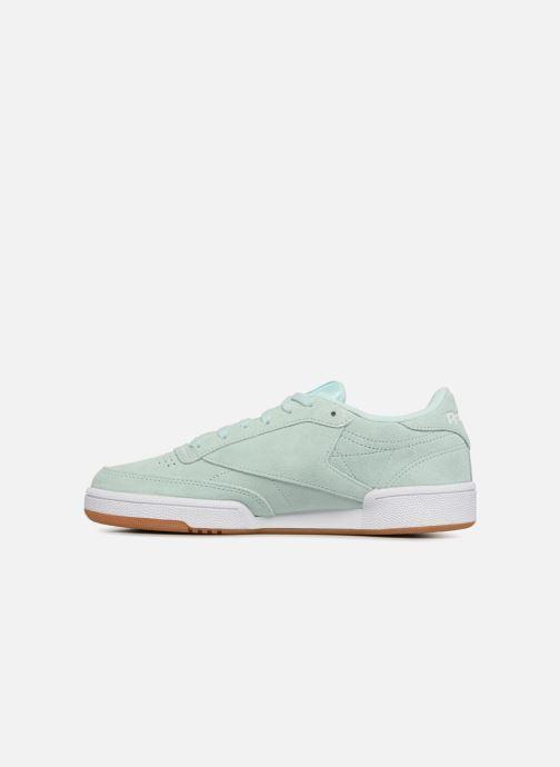 Sneakers Reebok Club C 85 W Groen voorkant