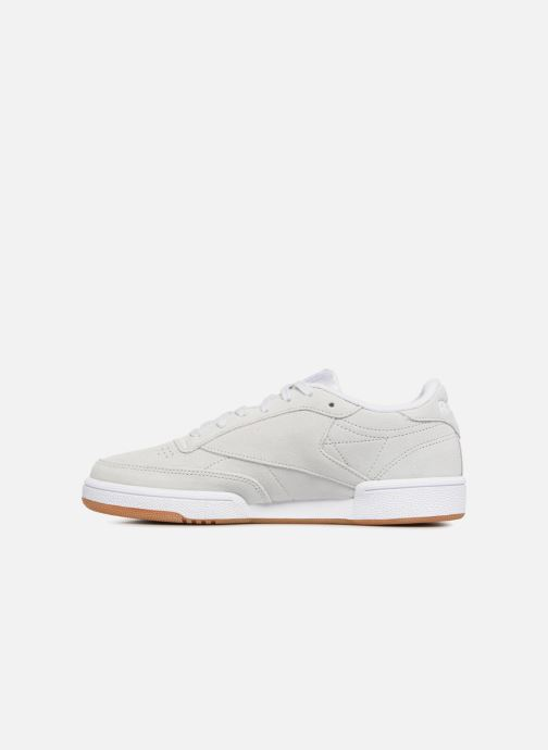 Baskets Reebok Club C 85 W Gris vue face