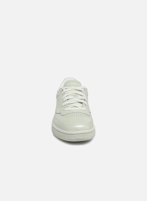 Baskets Reebok Club C 85 W Vert vue portées chaussures