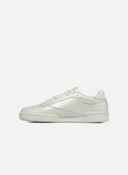 Sneaker Reebok Club C 85 W grün ansicht von vorne