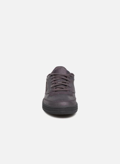 Baskets Reebok Club C 85 W Violet vue portées chaussures