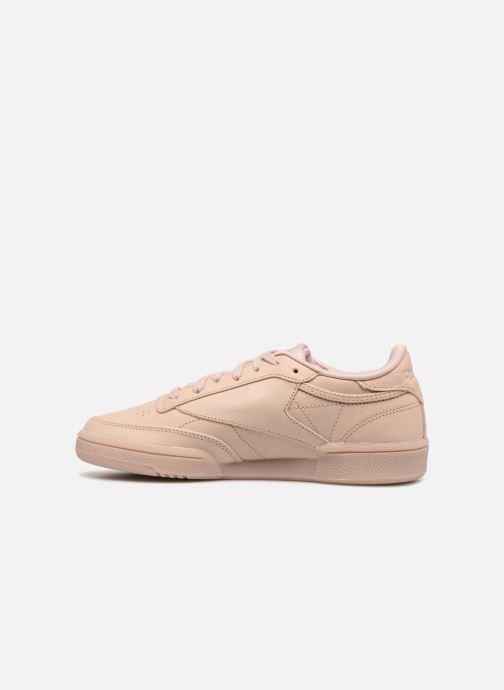 Sneakers Reebok Club C 85 W Roze voorkant