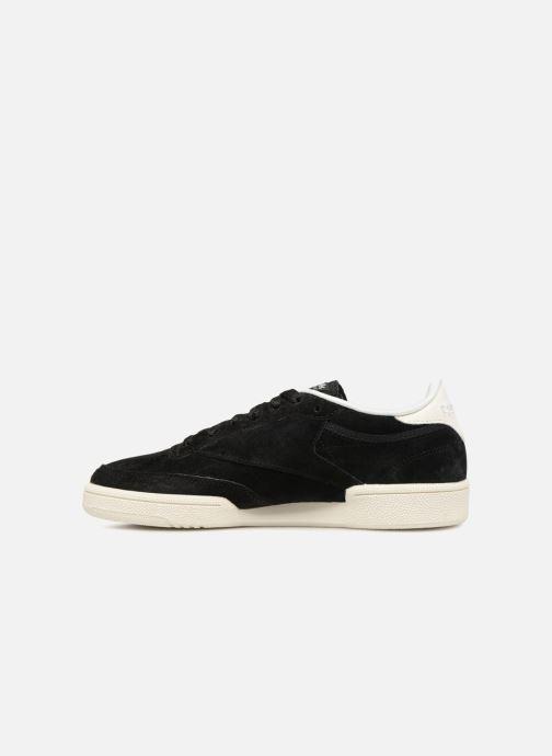 Sneaker Reebok Club C 85 W schwarz ansicht von vorne