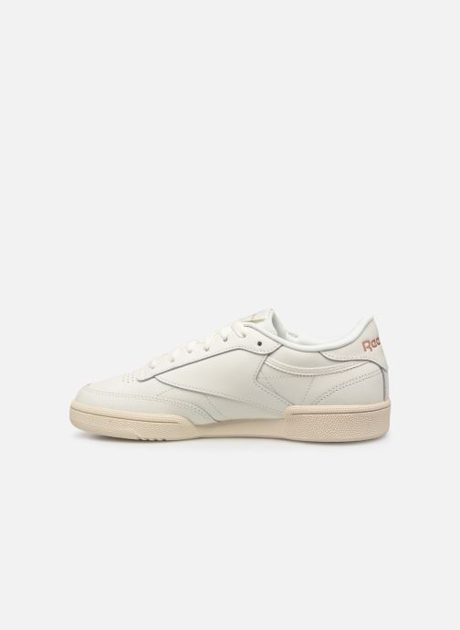 Sneakers Reebok Club C 85 W Wit voorkant