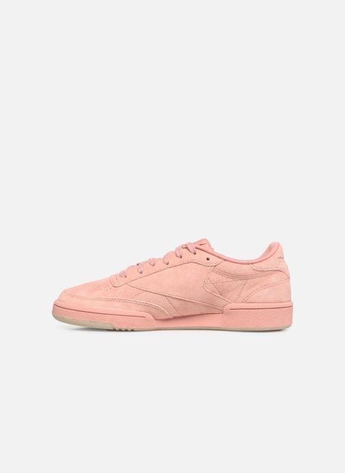 Sneaker Reebok Club C 85 W rosa ansicht von vorne